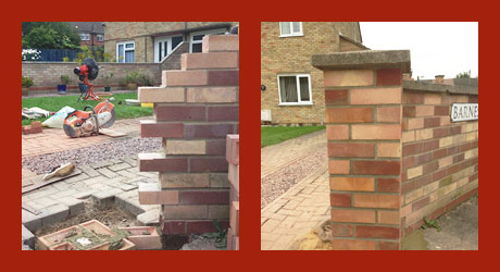 Garden wall repair Cambridge